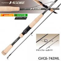 Спиннинг Graphiteleader Vigore GVGS-742ML 2.24m 1.75-10.5gr