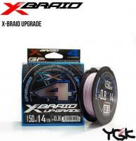 Шнур YGK X-Braid Upgrade X4 150m PE#0.6 lb12